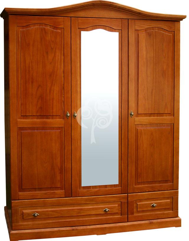 stylowa szafa drewniana