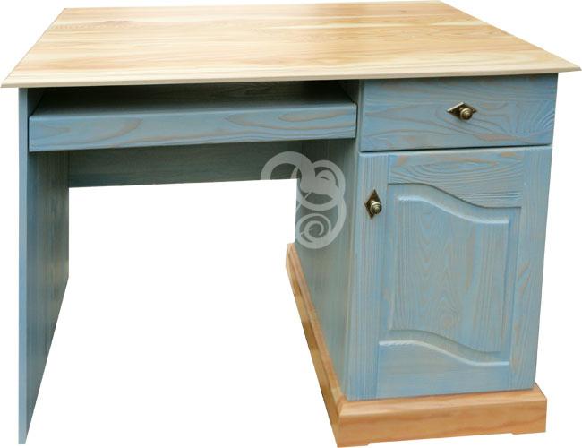 biurko z litego drewna sosnowego