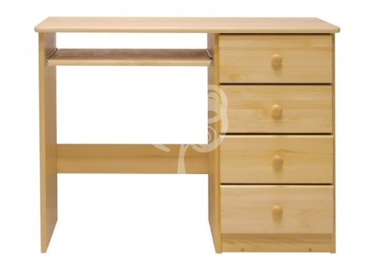 klasyczne biurko sosnowe