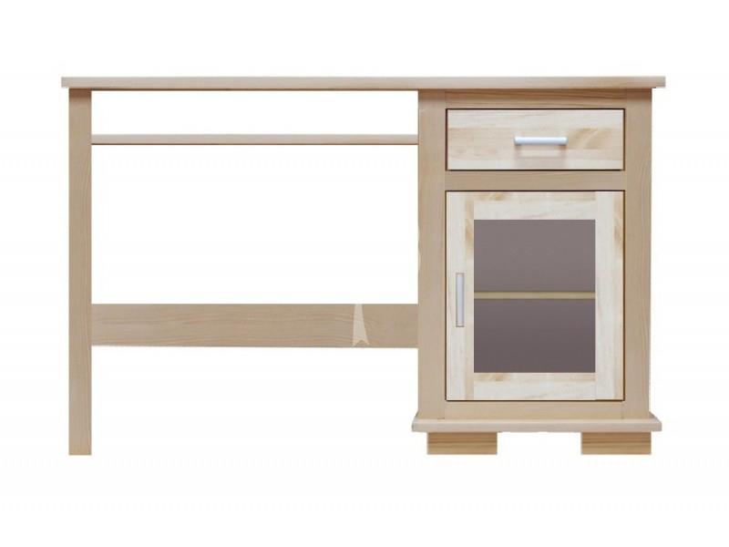 designerskie biurko drewniane