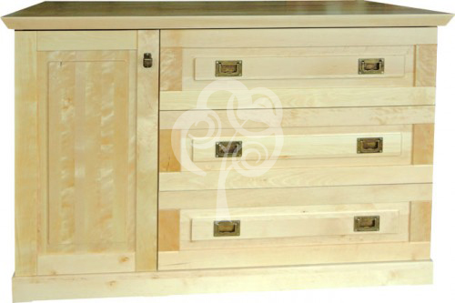 komoda z drewna design