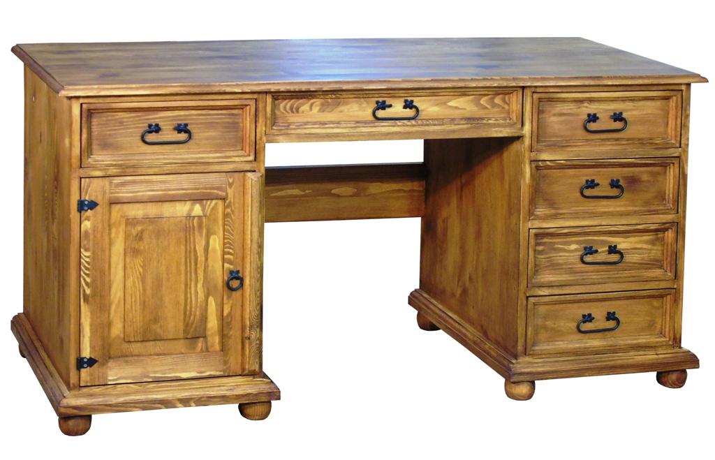 klasyczne biurko hacienda