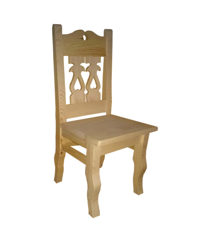 krzesło drewniane do góralskiej restauracji
