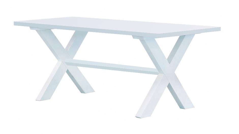 designerski stół z litego drewna