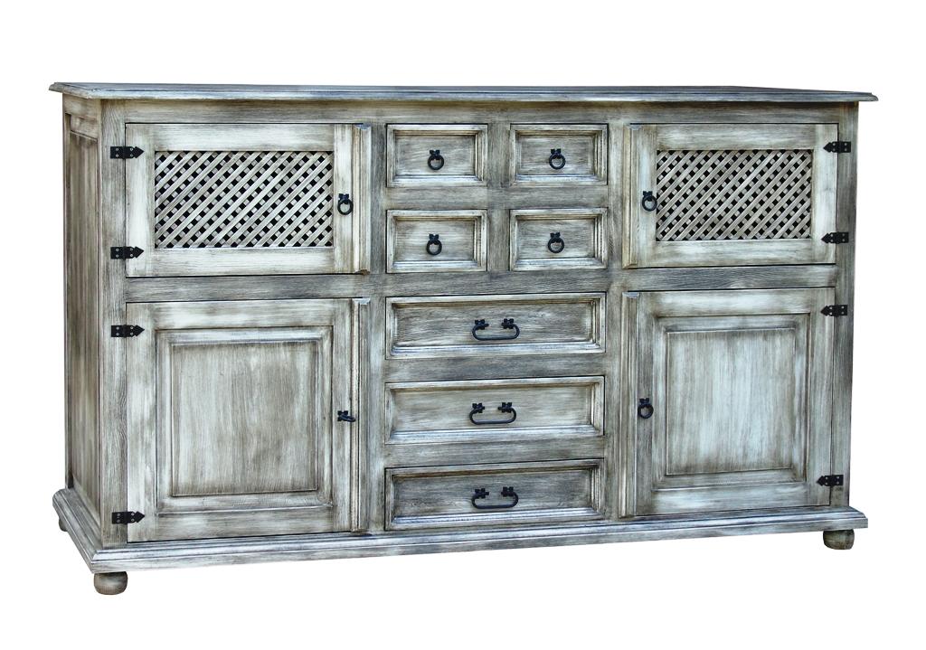designerska komoda z drewna