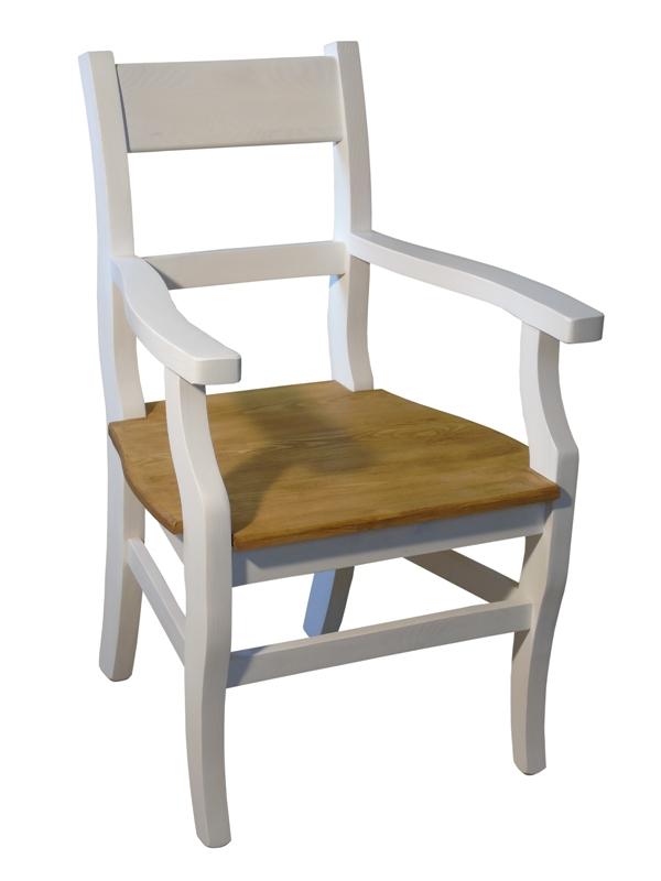 krzesła z drewna