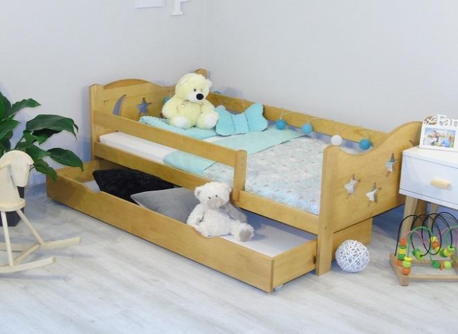 łóżeczka drewniane dla dzieci